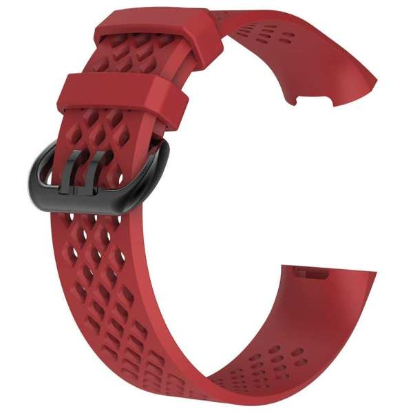Fitbit Charge 3 bandje sport SMALL – rood_1001