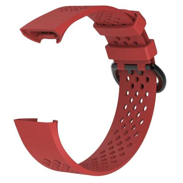 Fitbit Charge 3 bandje sport SMALL – rood_1002