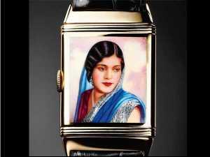 1936 Reverso portraying an Indian Woman