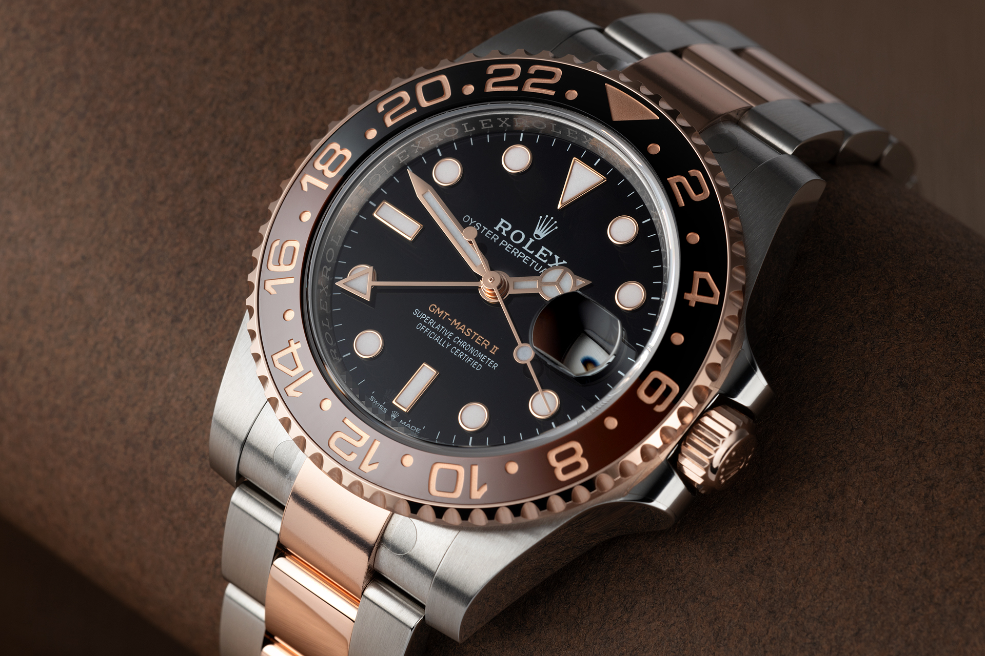 Rolex GMT-Master II Watches | ref 126711CHNR | 'Brand New Root Beer' | The Watch Club