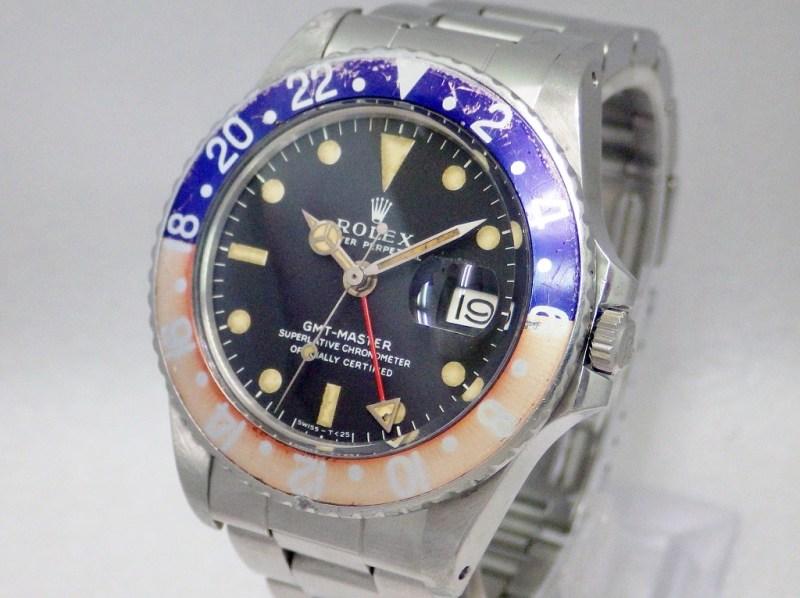ロレックス GMTマスター 1675 CASE#5768