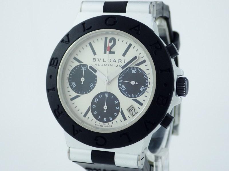 ブルガリ アルミニウム AL38TA CASE#6919