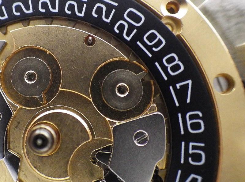 時計修理技術者コラムVol.7 カレンダー送りの構造と不具合~Cal.ETA7750編~