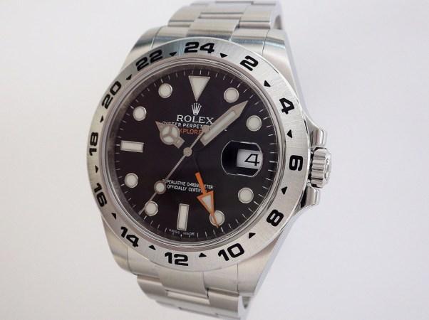 ロレックス エクスプローラーⅡ 216570 CASE#10578