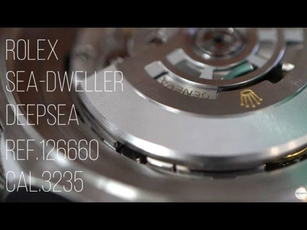 YouTubeNo.0031 ROLEX SEA-DWELLER DEEPSEA Ref.126660 Cal.3235 (ロレックス シードゥエラー・ディープシー)