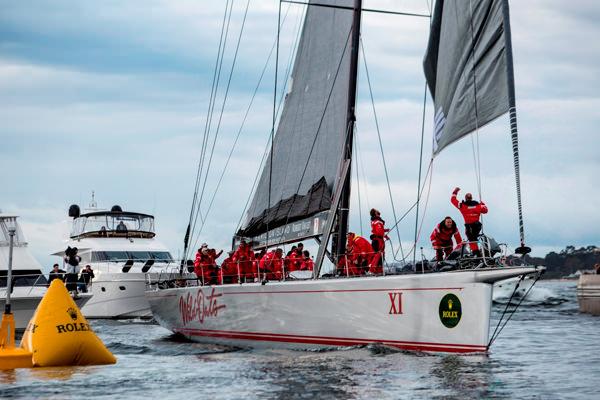 2012勞力士 (Rolex)悉尼至霍巴特帆船賽新年收帆 冠軍獎盃實至名歸