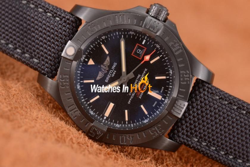c2e69c97b Breitling replica reloj suizo. El Breitling Avenger Blackbird ...