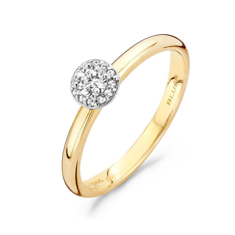 Blush 1131BZI gold ring  WatchesnJewellerycom