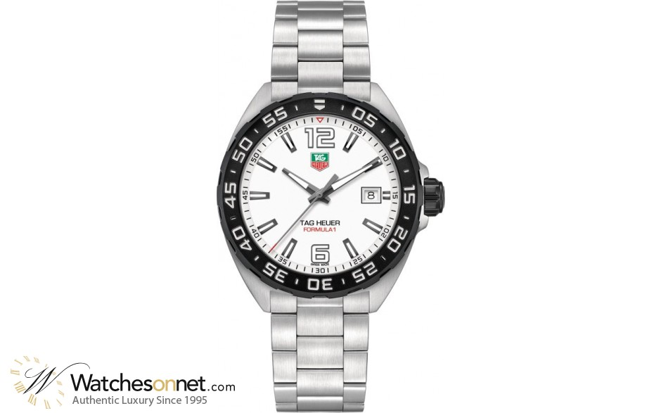 Tag Heuer Formula 1 WAZ1111.BA0875 Men's Stainless Steel