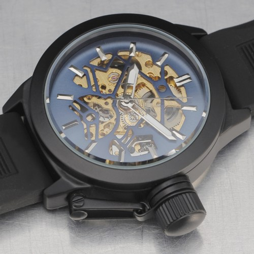 SEWOR Skeleton Mechanical Watch Automatic Men