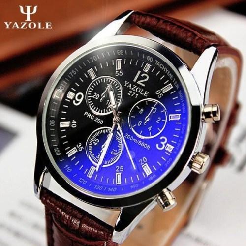 Yazole Men watch Luxury Quartz
