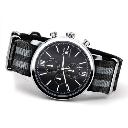SINOBI Sports Chronograph Men NATO Strap