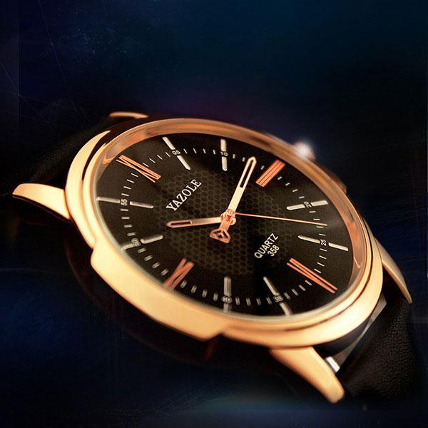 282170c52bf YAZOLE Rose Gold Wrist Watch Men - Watch Etc.