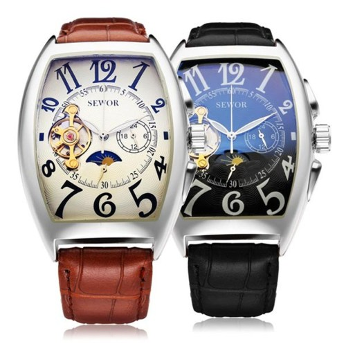 Sewor Men Mechanical Business Watch