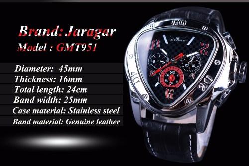 Automatic Jaragar Watch – Sport Racing – Jaragar GMT951