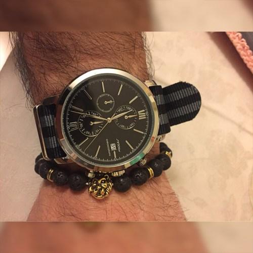 SINOBI Sports Chronograph Men NATO Strap