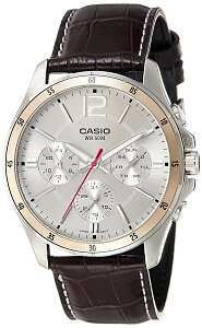 Casio Enticer White Dial Men's Watch MTP-1374L-7AVDF