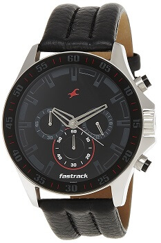 Fastrack Chrono Upgrade Analog Black Dial Men's Watch – ND3072SL06