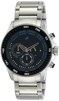 Fastrack Chrono Upgrade Analog Black Dial Men's Watch – ND3072SM03