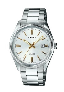 Casio Enticer Analog Silver Dial Men's Watch - MTP-1302D-7A2VDF