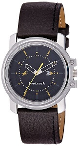 Fastrack Economy Analog Black Dial Men's Watch – NE3039SL02