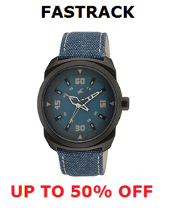 Fastrack Watches Offer - Up to 50% Off