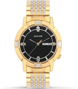 Sonata 7116BM01 Analog Watch for Men