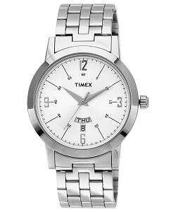 Timex Classics Analog Silver Dial Men's Watch - TI000T118