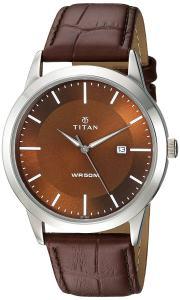 Titan-Analog-1584SL04-Brown-Dial-Mens-Watch