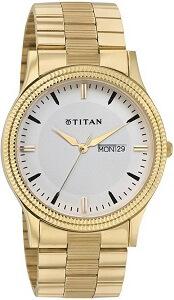 Titan NH1650YM03 Karishma Analog Watch