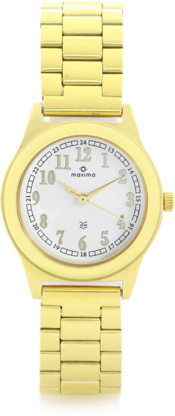 Maxima 34802CMLY Analog Watch for Women