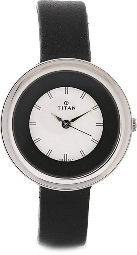 Titan NF2482SL02 Tagged Analog Watch for Women