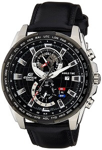 Casio Edifice Analog Black Dial Men's Watch - EFR-550L-1AVUDF