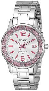 Casio Enticer Analog Silver Dial Women's Watch - LTP-1359D-4AVDF