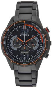 Citizen Eco-Drive Analog Black Dial Men's Watch - CA4125-56E
