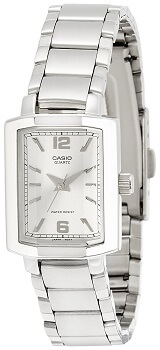 Casio Enticer Analog Silver Dial Women's Watch – LTP-1233D-7ADF
