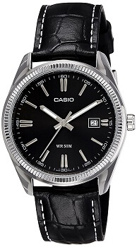Casio Enticer Analog Black Dial Men's Watch – MTP-1302L-1AVDF