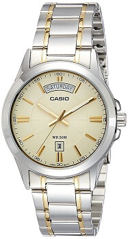 Casio Enticer Analog Multi-Color Dial Men's Watch – MTP-1381G-9AVDF