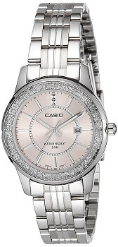 Casio Enticer Analog Pink Dial Women's Watch – LTP-1358D-4AVDF