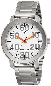 Fastrack Casual Analog White Dial Men's Watch - 3121SM01