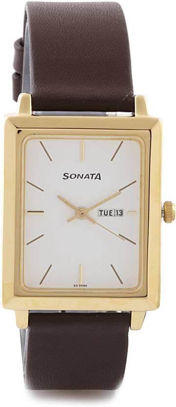 Sonata NG7078YL03 Analog Watch – For Men