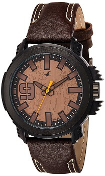 Fastrack Analog Brown Dial Men's Watch – 38015PL04