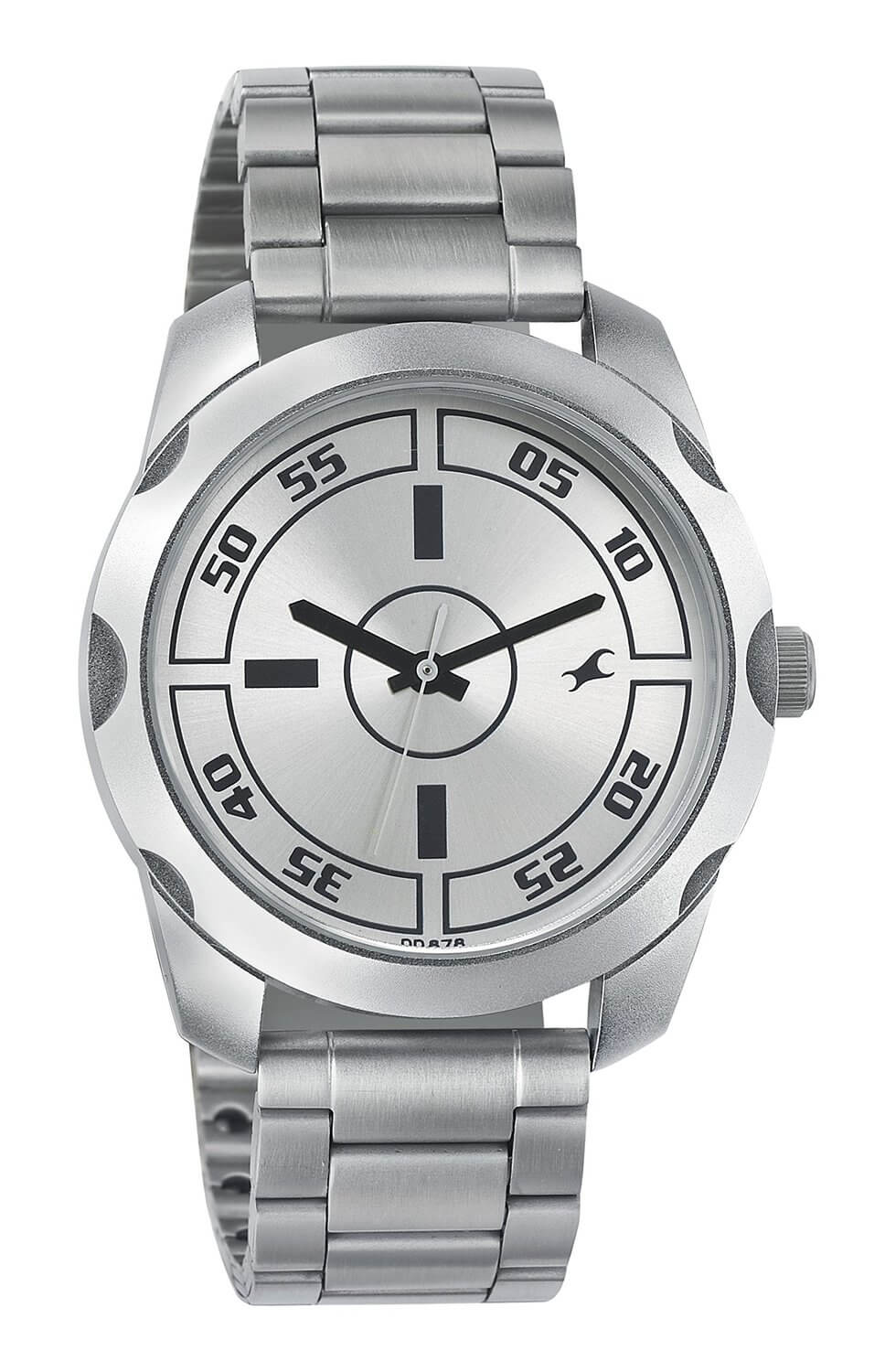 Fastrack Casual Analog Silver Dial Men's Watch – 3123SM02