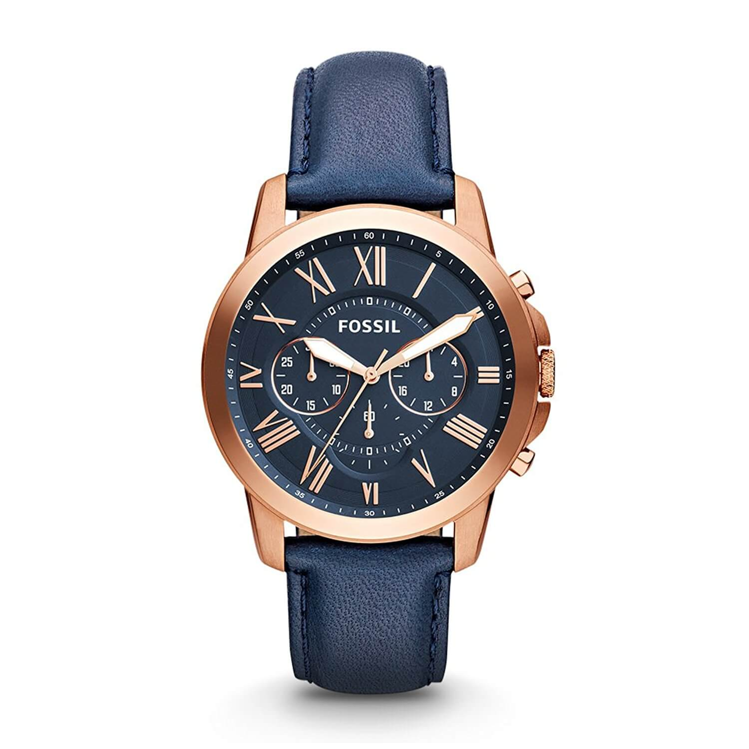 Fossil Analog Blue Dial Men's Watch – FS4835