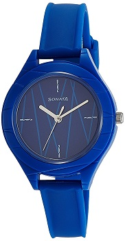 Sonata Color Pop Analog Blue Dial Girls Watch – 87023PP02