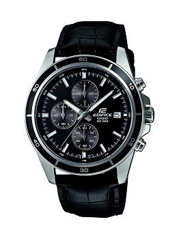 Casio Edifice Chronograph Black Dial Men's Watch – EFR-526L-1AVUDF