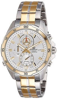 Casio Edifice Analog White Color Men's Watch – EFR-547SG-7A9VUDF