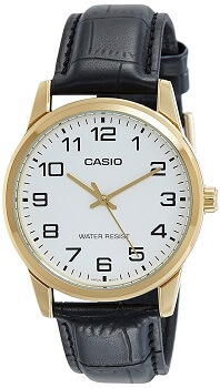 Casio Enticer Analog White Dial Men's Watch – MTP-V001GL-7BUDF