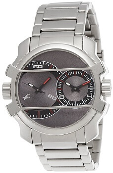 Fastrack Midnight Party Analog Grey Dial Men's Watch – 3098SM01