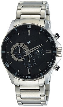 Fastrack Chrono Upgrade Analog Black Dial Men's Watch – ND3072SM02